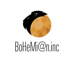 BoHeMi@n.incの新しいロゴ